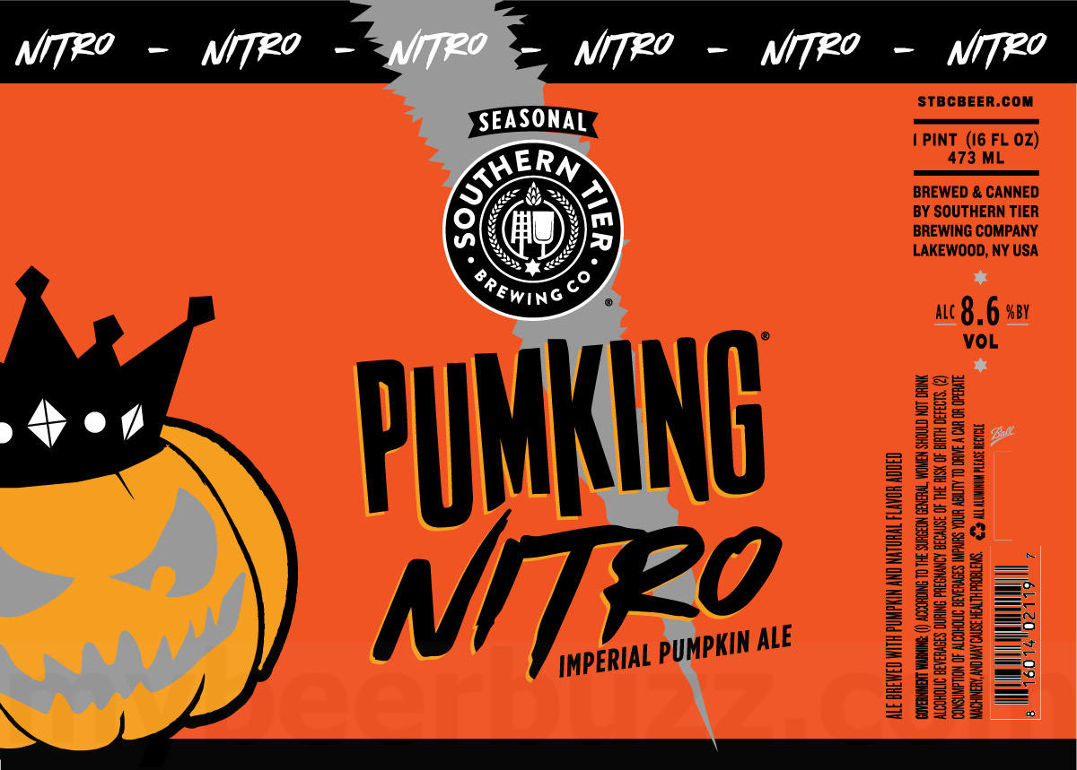 Southern Tier Pumking Nitro 16oz Cans Coming This Fall - mybeerbuzz