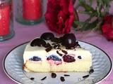Tarta de Chocolate Blanco y Ceezas
