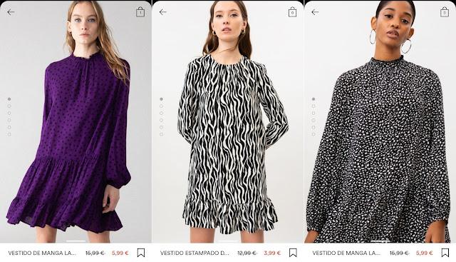 Vestidos Lefties Rebajas verano 2021 precios 2