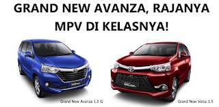 Spesifikasi Grand New Avanza E 2015 All Yaris Trd Sportivo 2018 Toyota Arina Gresik Tipe G