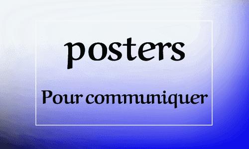 ملصقات المستوى الرابع Posters Livret Pour communiquer en Francais 4 aep