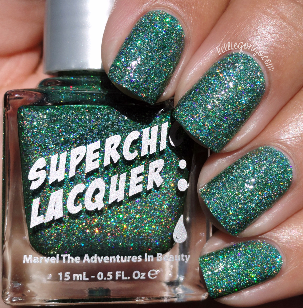 SuperChic Lacquer Take the Plunge