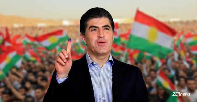 Serekwezir Neçirvan Barzani Kurdistan Referandum