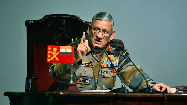 Big statement of Indian army chief, 6-10 Pak soldiers killed, 3 terrorist camps completely destroyed