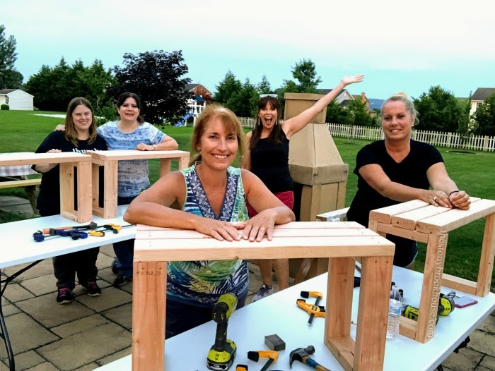 Building Skills 101- Bench Project