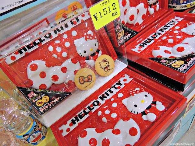 Galletas de Hello Kitty en la Torre de Tokio