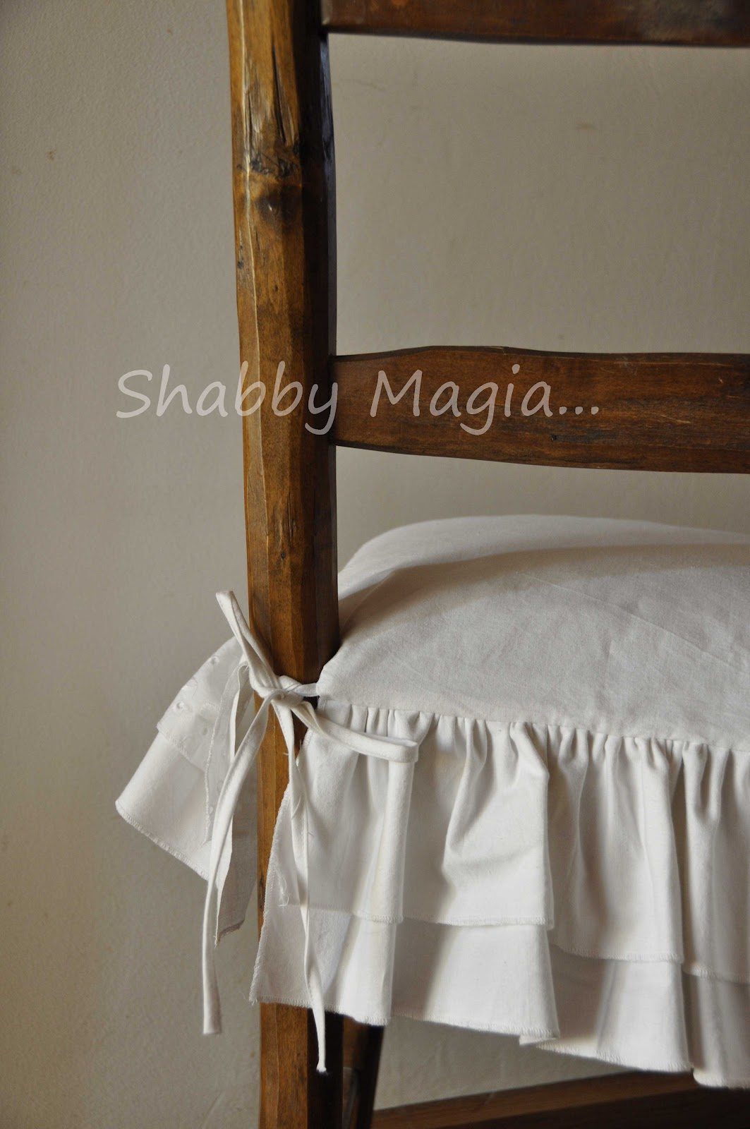 Coprisedie Shabby Chic Shabby Magia Assolutamente Vintage
