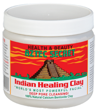face mask and cures toothache bentonite clay