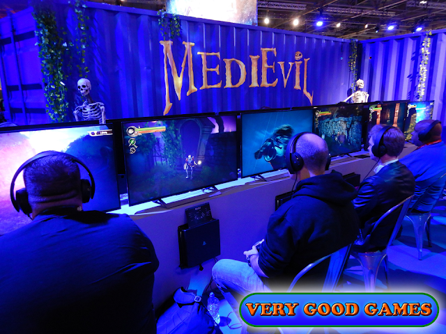 Photo report from the gaming event EGX 2019 in London - the game MediEvil for PlayStation 4