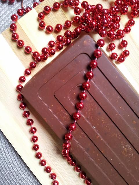 Turrón de chocolate con conguitos