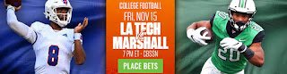 LA TECH vs MARSHALL NCAAF