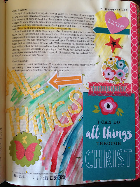 Bible Art Journal - All Things