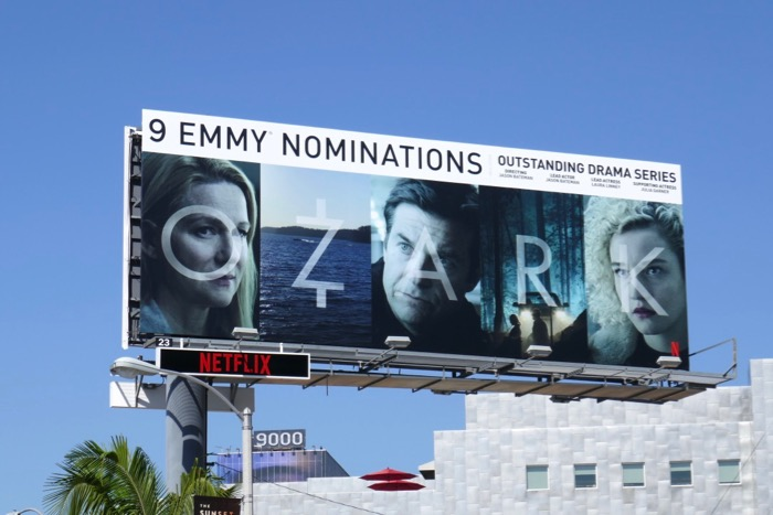 Ozark 9 Emmy nominations season 2 billboard