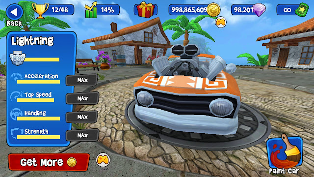 Rumle racing di android