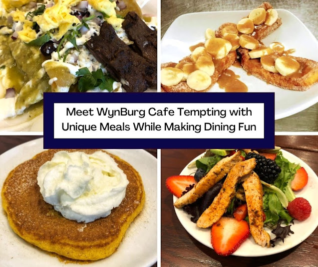 Meet WynBurg Cafe Tempting with Unique Meals While Making Dining Fun