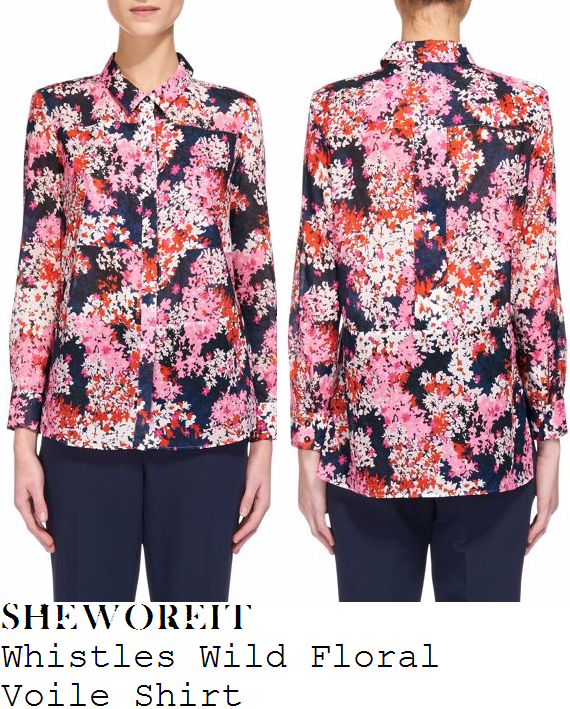 holly-willoughby-whistles-pink-red-white-navy-black-wild-floral-print-long-sleeve-collared-shirt