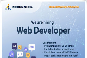 Lowongan Kerja Web Developer Bandung
