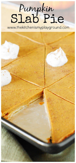 How to Make Pumpkin Slab Pie image