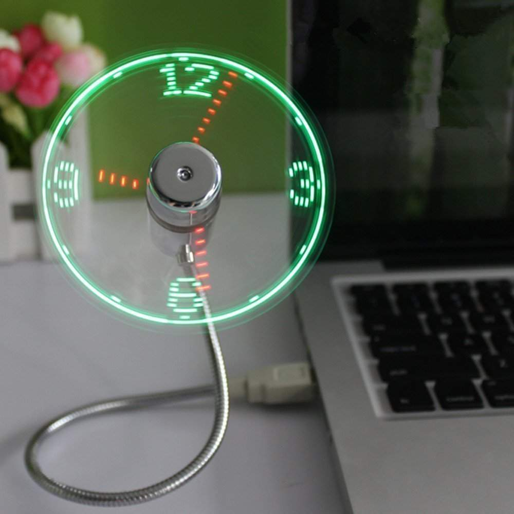 Usb Led Clock Fan Indonesia Canada India Usa
