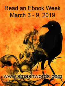 Read an Ebook Week - black raven with text, March 3-9, 2019 - www.smashwords.com