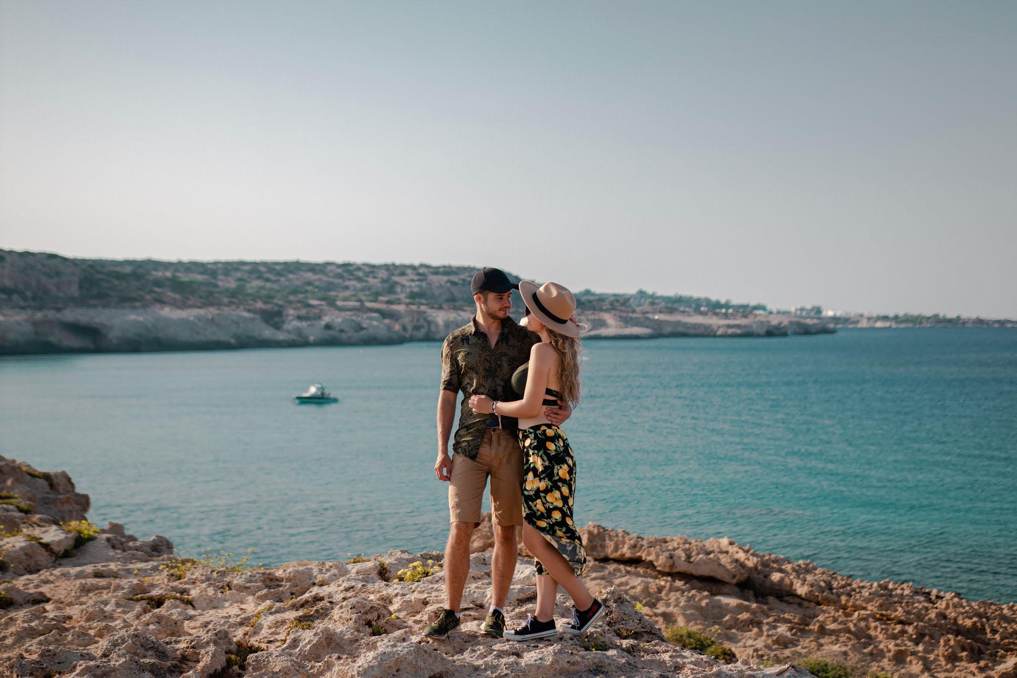 Cape Greco przylądek na Cyprze, atrakcje Cypru