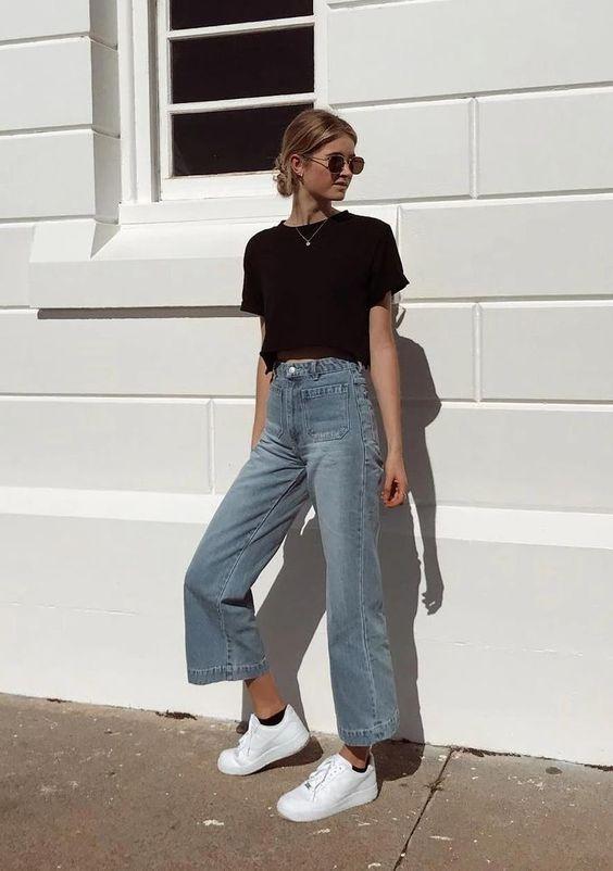 Ideias de looks com calça jeans