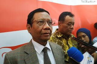 Ungkap 92% Cakada Dibiayai Cukong, Mahfud MD: Ada yang Lebih Bahaya dari Korupsi Uang