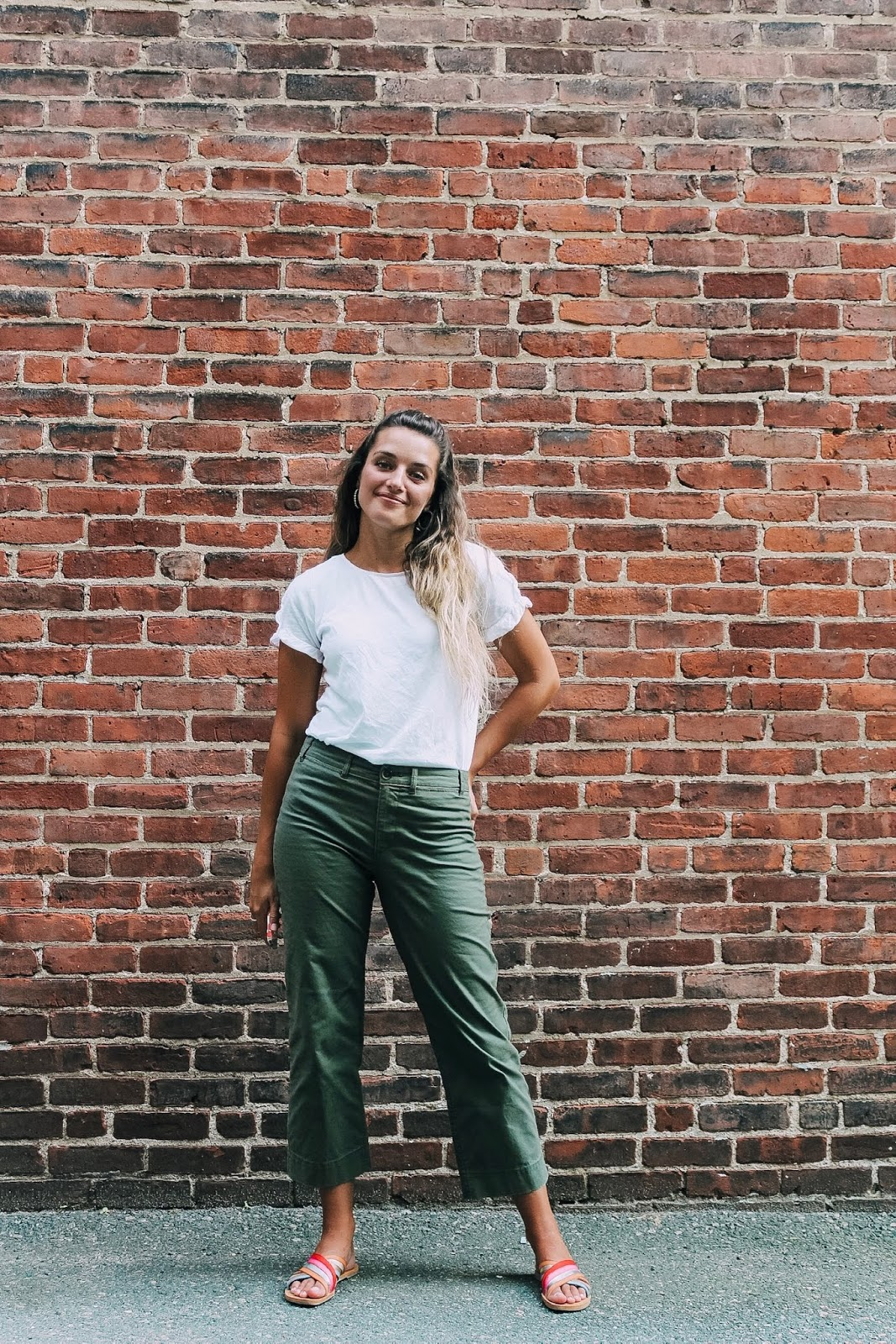 How to style wide-leg pants