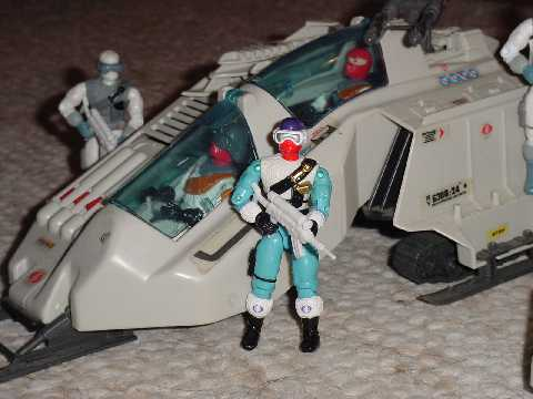 1993 Snow Serpent, Arctic Commandos, Mail Away, 1998, Ice Viper, Wolf 1987