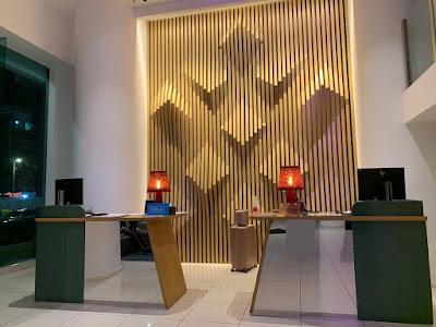 Hotel lobby of the Hilton Garden Inn Kuala Lumpur South