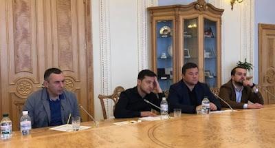 Зеленський зустрівся з парламентарями для обговорення дати інавгурації