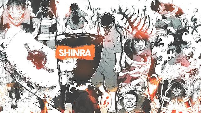 wallpaper shinra kusakabe adolla burst