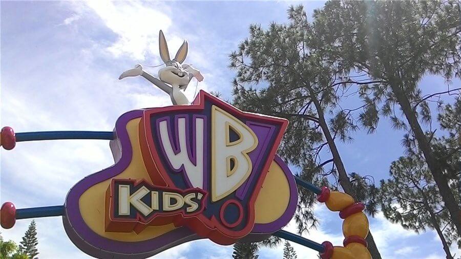 ゴールドコーストで人気の遊園地「ムービーワールド」の写真