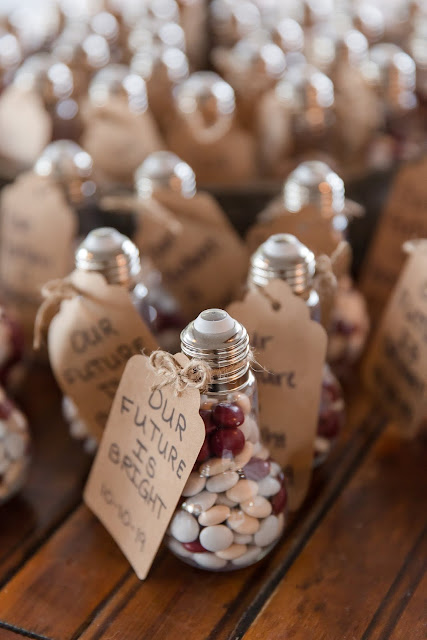 Shenandoah Mill in Gilbert AZ Wedding Photo of the wedding favors for guests by Micah Carling Photography