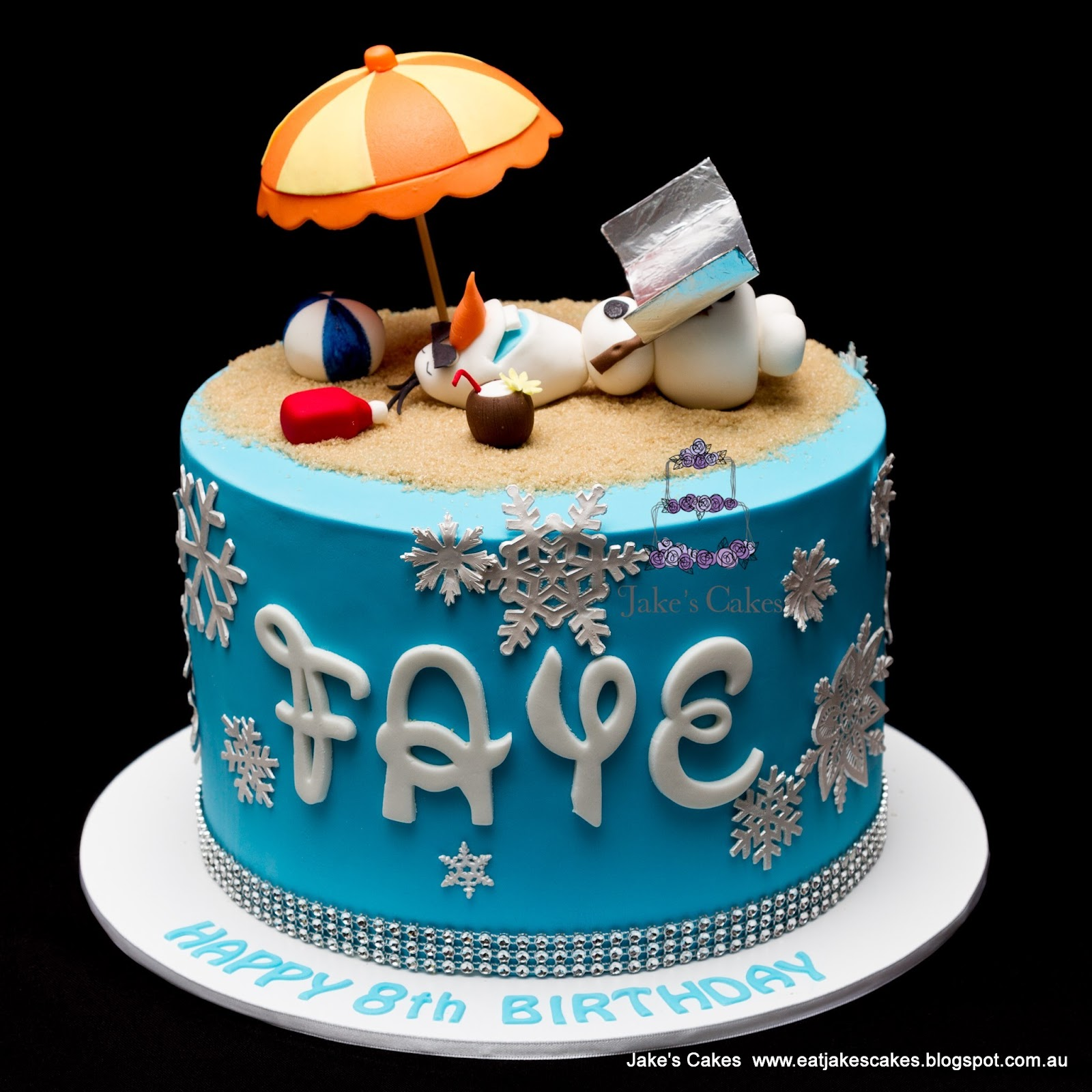 Happy Birthday Faye Cake