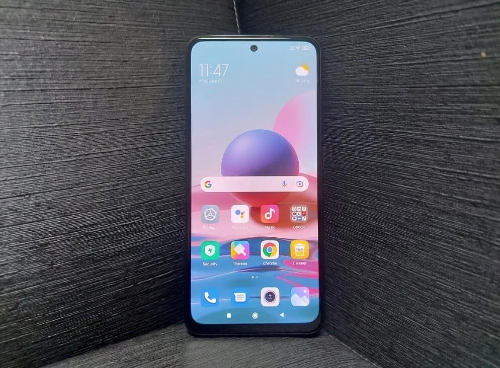 Xiaomi Redmi Note 10 Super AMOLED Display