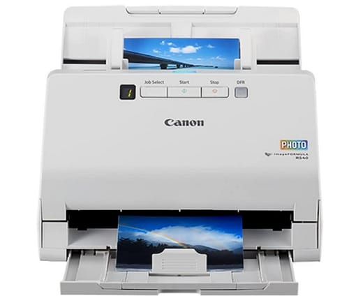 Canon RS40 imageFORMULA Photo and Document Scanner