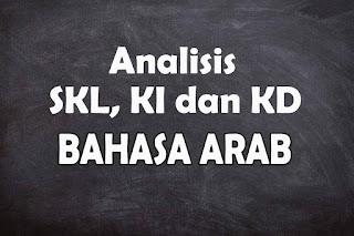Analisis SKL KI dan KD Bahasa Arab SMA/MA Tahun 2021
