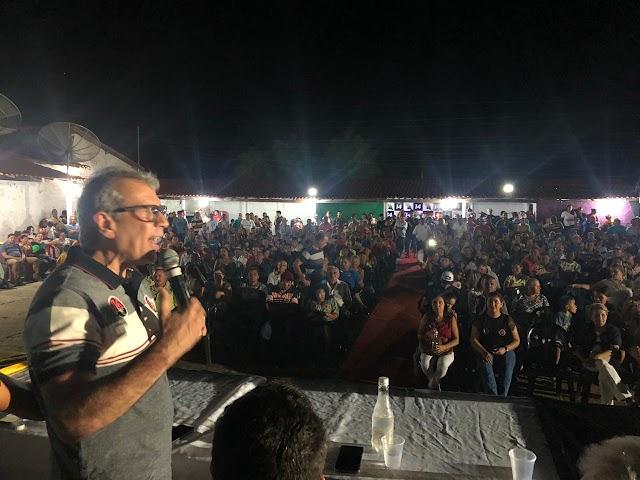 Beneditinos: Ex-senador JVC filia prefeito Julivan Mendes ao PTB
