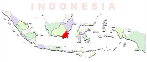 image: South Kalimantan Map location