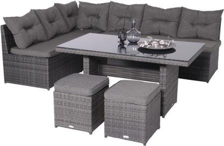 Dining Set Tuin : Lounge dining set loungen en gezellig tafelen tuin