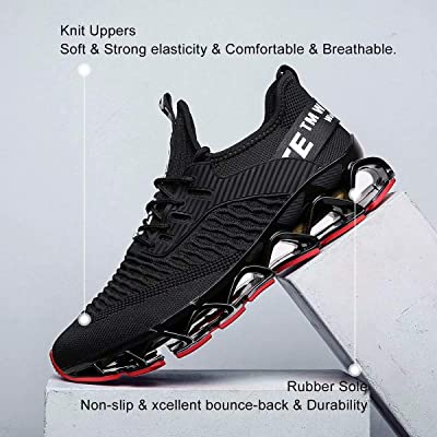 Giày của nam giới Vooncosir Vải đế thấp trên giày chạy bộ
