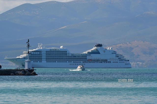 Πιάνει Ναύπλιο φέτος το καλοκαίρι το κρουαζιερόπλοιο Seabourn Ovation