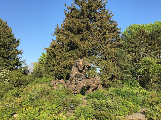 linnaeus statue chicago botanic garden