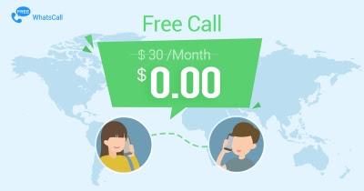 تطبيق Whatscall للحصول على مكالمات مجانية