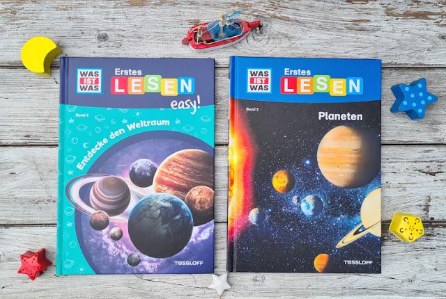 """WAS IST WAS Erstes Lesen: Spannende Sachbücher für Leseanfänger. Der Weltraum fasziniert Kinder ebenso wie Planeten! Diese Kinderbücher sind einfach geschrieben, so dass sie auch für Anfänger """"easy"""" zu lesen sind."""