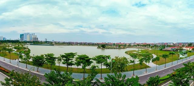 Cảnh quan dự án An Bình City