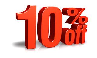 Sale Off 10%