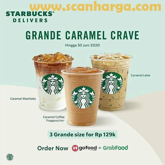 Promo Starbucks Harga Spesial Terbaru 3 minuman Hanya 105RB! 2