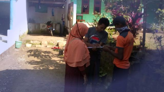 Respon Cepat, BPBD Droping Air Bersih ke Ponpes Nurul Hasan